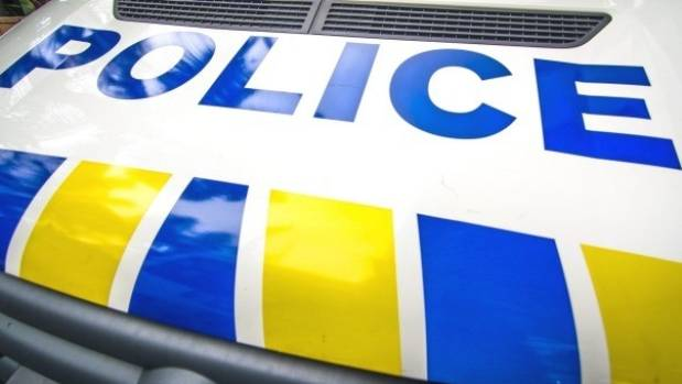 Police are on the scene of a two vehicle crash in Porirua.