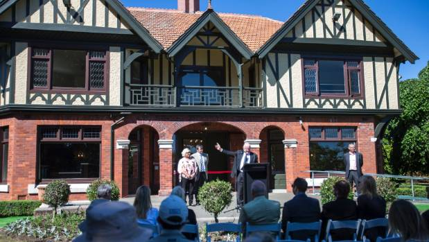 David Ward, of Continental, talks about the company's long association with Mona Vale during the official reopening on ...