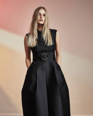 This Francesco dress from Gregory is a stunning black option, according to stylist Ingrid Vink.