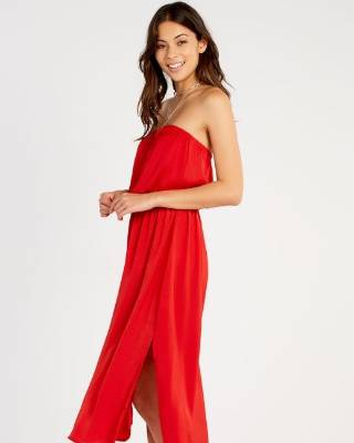 If you don't have the budget to splurge, this Glassons Bardot midi dress is recomended by stylist Ingrid Vink.