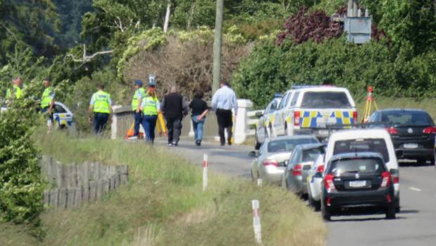 Garth Katene Weston died in a car crash at a bridge 3km west of Masterton.