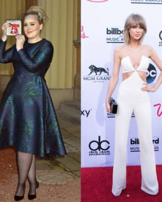 Adele is office-appropriate but Taylor not so much.