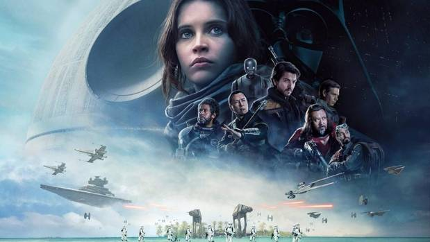 Rogue One: A Star Wars Story's band of heroes.