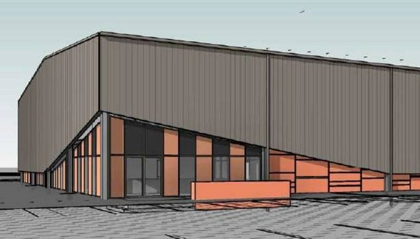 The Rototuna Indoor Recreation Centre will be used for netball, basketball, futsal, badminton and volleyball. It's due ...