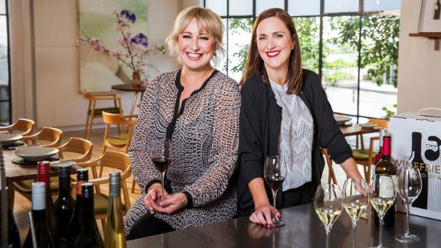 WineFriend co-founders Yvonne Lorkin, left, and Debbie Sutton are eyeing the future after selling 25 per cent of their ...
