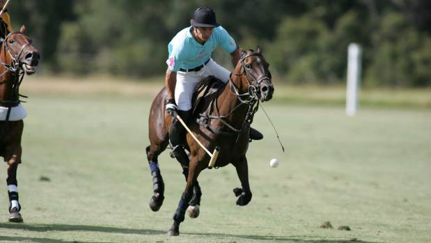 Professional polo player Sam Hopkinson will be competing in the Remuera polo event in February.