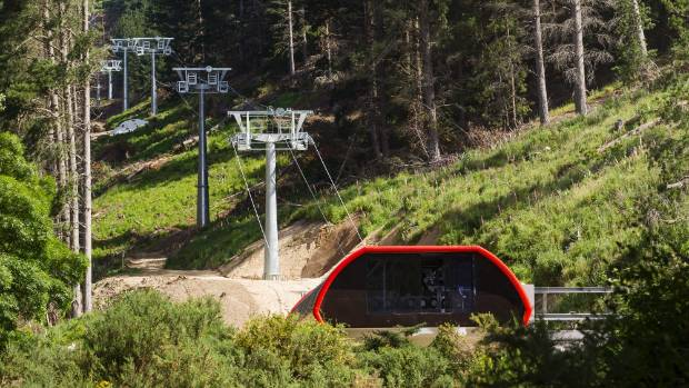 The chairlift at the Christchurch Adventure Park is undergoing final testing before compliance can be given.