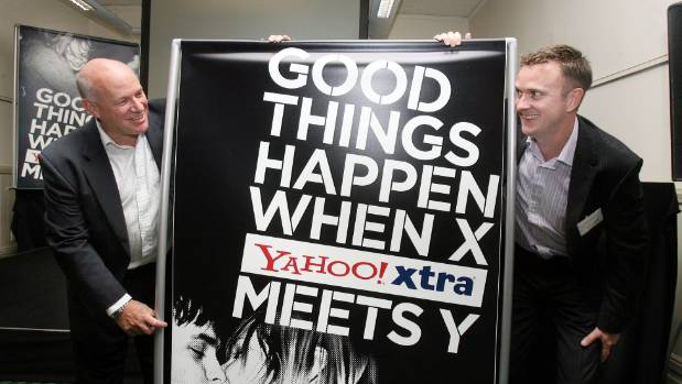 The launch of Yahoo Xtra in 2007.