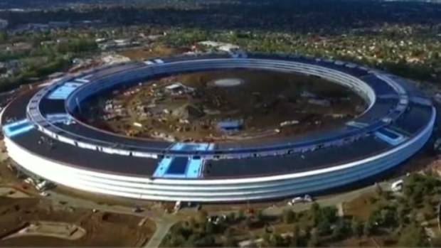 Apple Campus 2 will open to workers in January.