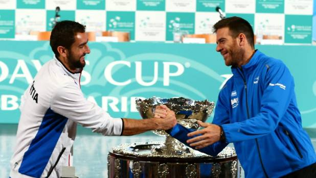 Marin Cilic and Juan Martin played against each other in the Davis Cup final last weekend. Will one of them next play in ...