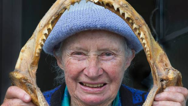 """The Queen of the Kaipara"" has spent her life fishing the waters of the Kaipara Harbour catching plenty of fish like the ..."