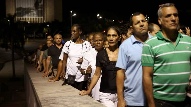 Fidel Castro was cremated on Nov 26 and the Cuban government has declared a nine-day period of mourning.