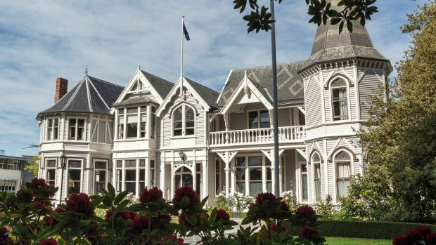 Strowan House at St Andrew's College was extensively refurbished after the Christchurch earthquake.