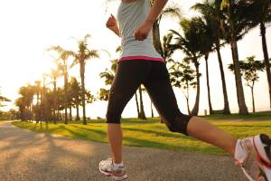 Regular physical activity and sticking to a healthy weight helps prime women for a leaner, healthier menopause.