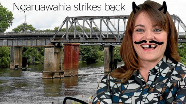 Heather du Plessis-Allan wasn't always everyone's favourite host, earning the wrath of Ngaruawahia residents and the ...