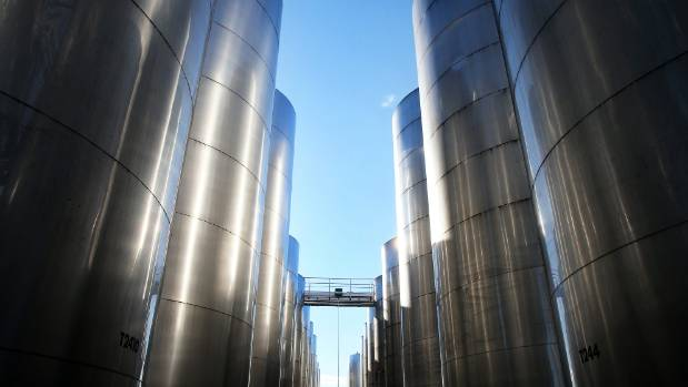 Wineries are trying to empty damaged tanks in time for harvest.