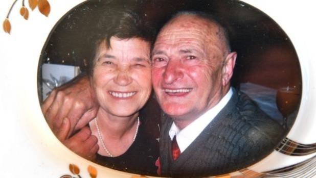 "Michael Di Berardino, seen here with his wife Gemma, ""lived big"", a grandson said."