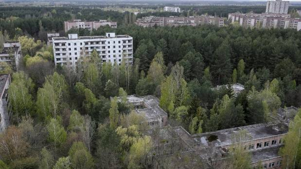 The city of Pripyat was abandoned in the days after the disaster at Chernobyl.