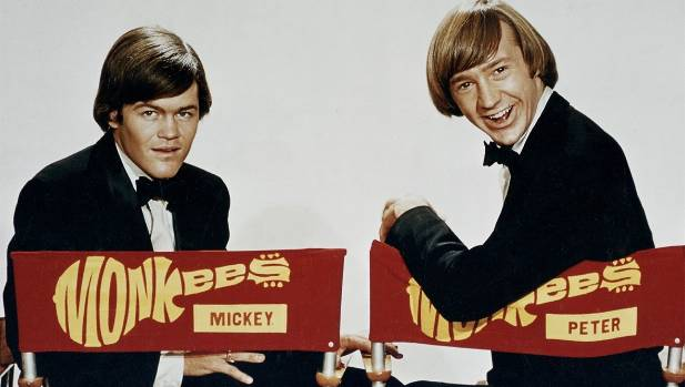 There might only have been two of the original Monkees on stage, but their first performance in New Zealand was ...