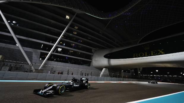 The Yas Marina Circuit in Abu Dhabi, United Arab Emirates, was the venue for early post-season tyre testing.