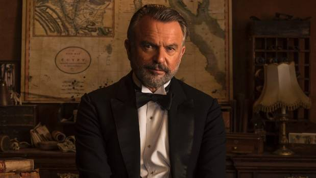 Kiwi Actor Sam Neill says Lord Carnarvon's passion is much like his own love of wine.