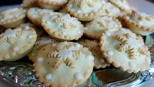 Rangiora Bakery's fruit mince pies were created from the merging of two recipes.