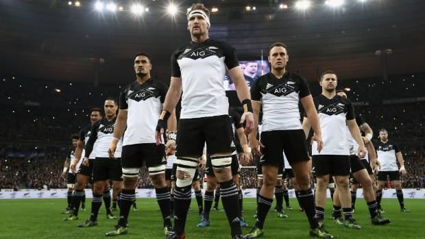 Adidas makes all of the All Blacks' playing kit, from shoes to jerseys and everything in between.