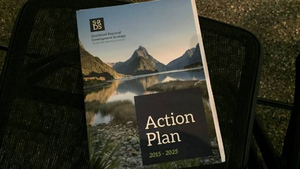 The Southland Regional Development Strategy aims to boost education, the primary sector, aquaculture, and tourism.