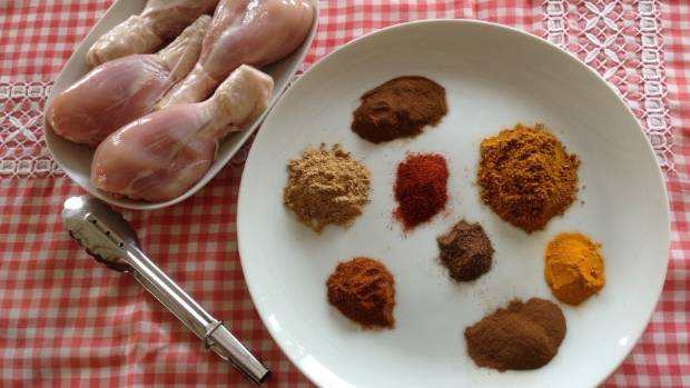 Spices make great rubs for meat and can add flavour without needing lots of salt.