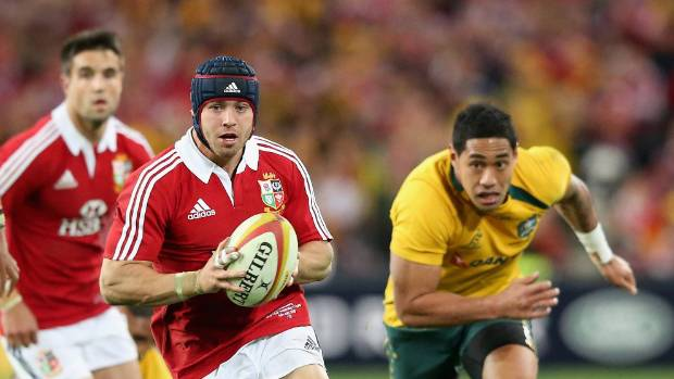 Welsh fullback Leigh Halfpenny was the Lions' player of the tournament in their series win over Australia in 2013.