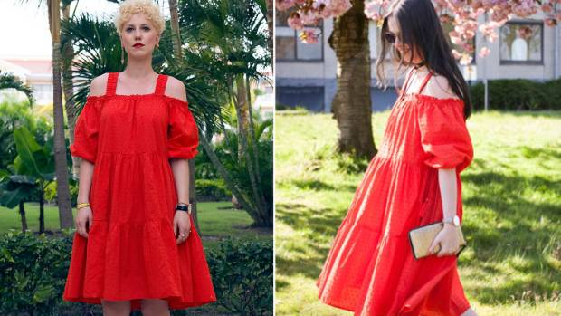 International style bloggers Borjana Radovic and Annabeth Bels also recommended the dress.