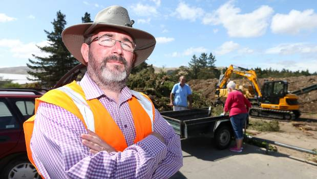 """Marlborough District Council solid waste manager Alec McNeil says other timber recycling schemes are """"goodwill based""""."""