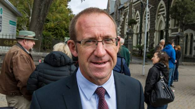 "Opposition leader Andrew Little says ""it's pretty obvious"" there is a link between a drop in police foot patrols and a ..."