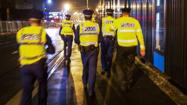 Police foot patrols have dropped 16 per cent since 2014. The Labour Party claims there has been a crime surge since the ...