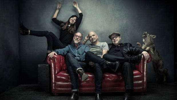 Pixies play Christchurch's Horncastle Arena on March 9, Wellington's TSB Arena on March 10, and Auckland's Vector Arena ...