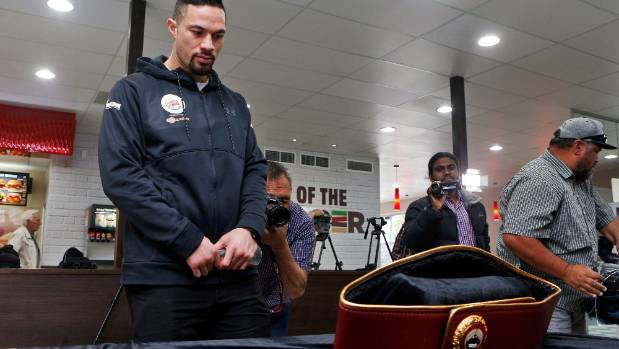 Joseph Parker is about to have the fight of his life for this belt.