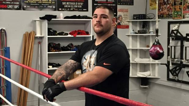Andy Ruiz is getting into the best shape he's ever been in for the world title fight.