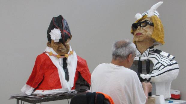 An Invercargill Prison inmate has created sculptures of mayor Tim Shadbolt and minister Judith Collins to be included in ...