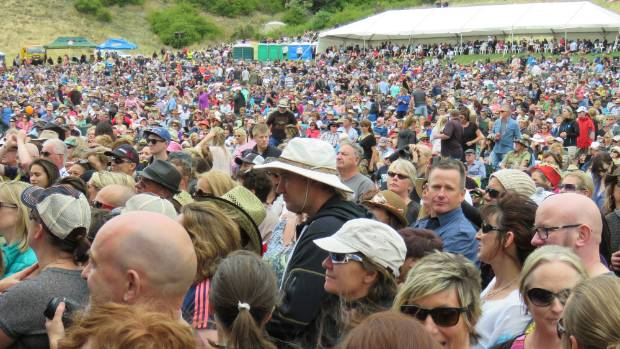 Concert-goers enjoyed this year's event at Gibbston Valley Winery, which has submissions against its alcohol licence for ...
