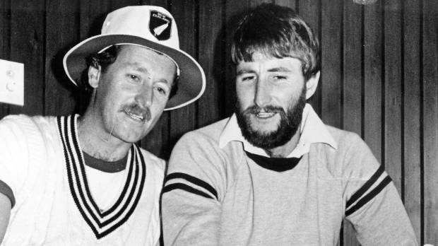 Jeremy Coney and Ewen Chatfield combined to build an unlikely match-winning partnership against Pakistan in Dunedin in 1985.