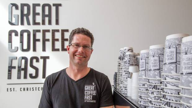 Great Coffee Fast owner Chris Gourley says there has been a lack of communication around road works in his area.