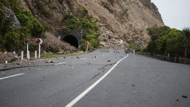 The 7.8 earthquake has left parts of State Highway 1 unrecognisable, though the transport minister says he doesn't think ...