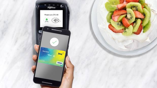 Image result for android pay bnz