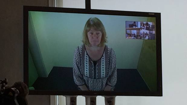 Joanne Harrison appeared via video link to a court for one appearance in August 2016. (File photo)