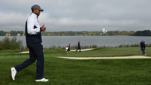 Tiger Woods has had a rough few years, but despite some pre-competition nerves he's feeling good about his chances of ...