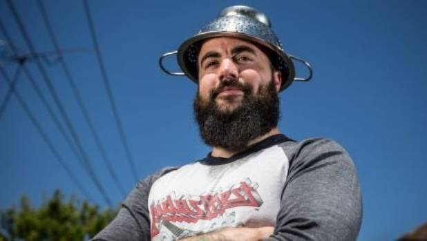 The colander is the religious headgear of Pastafarianism.