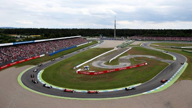 The Hockenheimring will not host a F1 race in 2017.