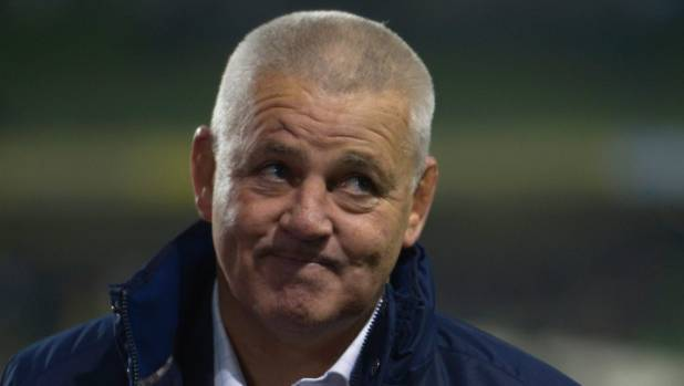 British and Irish Lions coach Warren Gatland.