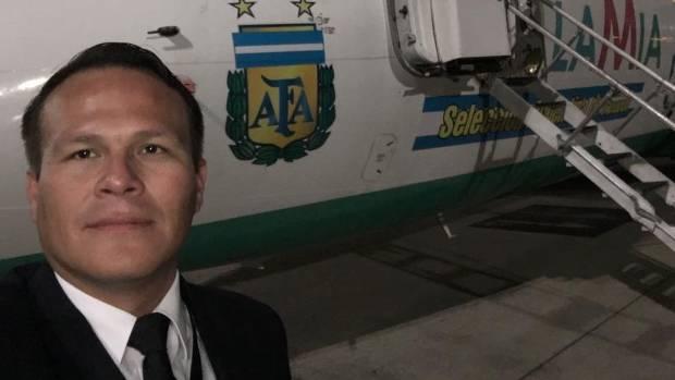 The pilot of the doomed flight, Miguel Alejandro Quiroga Murakami.