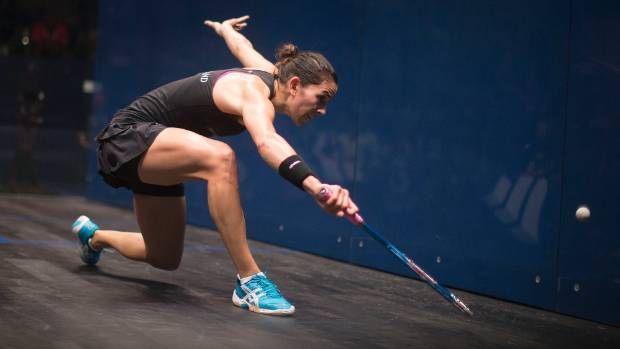 Joelle King helped lead New Zealand to the quarterfinals of the women's world squash champs in France.